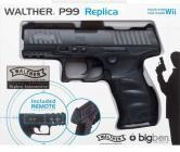 WII Pistola P99+Remote integrato Bigben