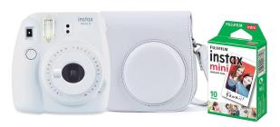FUJIFILM Fotoc.Instax MINI9WHITE+10+CASE