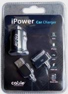 IPower Car Charger for IPhone Black