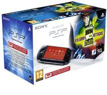 PSP 3000 + Ben 10 Alien F. Vilgax Attack