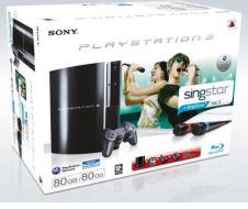 Playstation 3 80 Gb + Singstar Vol.3 +M.