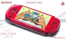 PSP 3004 Red