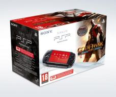 PSP 3000 + God of War: Ghost of Sparta