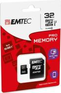 MicroSD + Adapter 32GB Pro (3D - 4K)