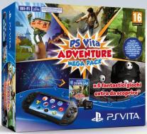 Ps Vita 2000+MC 8GB+Adventure MegaPack