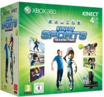 XBOX 360 4GB +Kinect+Kin.Sports 2
