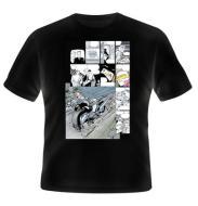 T-Shirt Batman Miller Comics Bike L