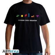 T-Shirt Tetris Choose Your Weapon L