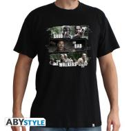 T-Shirt Walking Dead-Good,Bad,Walkers M