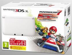 Nintendo 3DS XL White + Mario Kart 7
