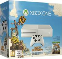 XBOX ONE White + Sunset Overdrive