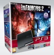 Playstation 3 320 GB + Infamous 2