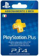 Sony PSN PS Plus Hanging Card 3 Mesi