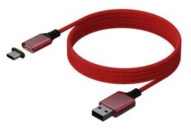 KONIX Magnetic Cable 3M PS5 Red