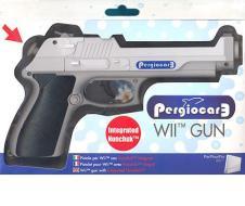 WII Pistola Con Nunchuk Incorporato