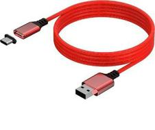 KONIX Magnetic Cable 3M Serie X Red
