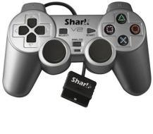 PS2 Pad Full Analog Satin Silver - XT