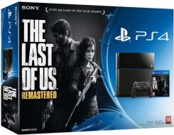 Playstation 4+The Last of Us Remastered