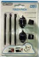 DS Lite Kit 5 in 1 Touch Pack Nero NITHO