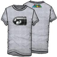 T-Shirt Supermario Proiettile Tg.XL