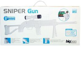 WII Sniper Gun White