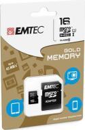 MicroSD + Adapter 16GB Gold(Smartph-Tab)