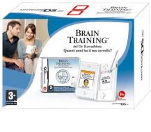 Nintendo DS Lite - Bianco + Brain Train
