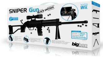 WII Sniper Gun Black