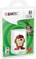 EMTEC USB Key 8GB LOONEY TUNES Taz 3D