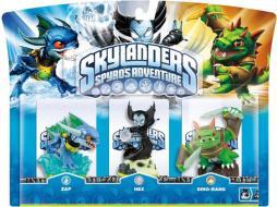 Skylanders Hex+Zap+Dinorang