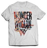 T-Shirt Wonder Woman Symbol L
