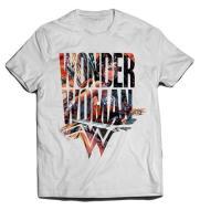 T-Shirt Wonder Woman Symbol M