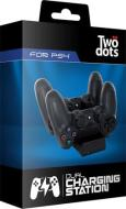 TWO DOTS Ctrl Dual Charger PS4