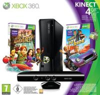 XBOX 360 4GB + Kinect Limited Ed. Bundle