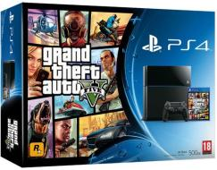 Playstation 4 + Grand Theft Auto V
