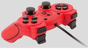 GIOTECK Controller Wired VX-2 PS3 Red