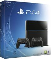 Playstation 4 B Chassis + 2 Dualshock 4
