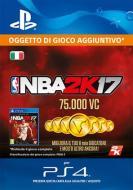 NBA 2K17 75000 VC