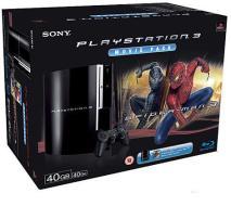 Playstation 3 40 Gb + Spiderman Film BD