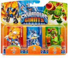Skylanders Chill+Zook+Ignitor (G)