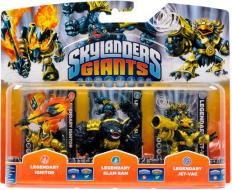 Skylanders Legendary Ignitor+S.Bam+J.Vac