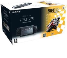 PSP Base Pack 2004 Black + SBK 07