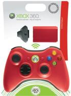 MICROSOFT X360 Con. Wless+PlayCharge Red