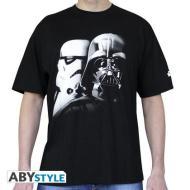 T-Shirt Star Wars - Vader & Trooper M