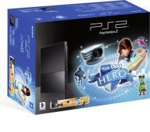 Playstation 2 Slim + Eye Toy Hero