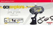 PSP Sony Go! Explore +Ric.GPS+Car Adapt.