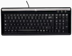 LOGITECH PC Ultra Flat Keyboard PS/2 USB