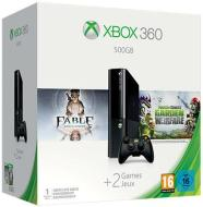 XBOX 360 500GB+Plants vs Zomb.+Fable Ann