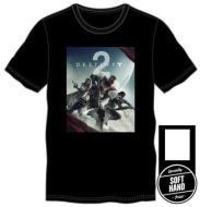 T-Shirt Destiny 2 nera con logo S