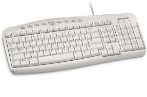 MS Wired Keyboard White 500